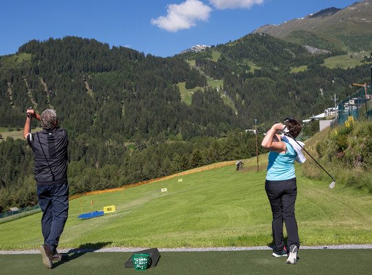 The golf experience