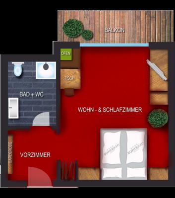 Wohlfühlzimmer - Sattelkopf