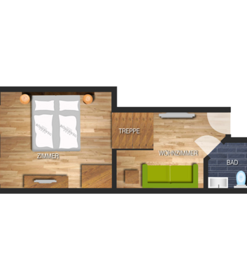 Swiss pine wood suite - Frommes