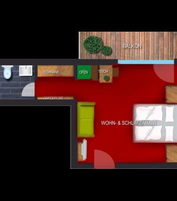Wohlfühlzimmer - Sernesspitze